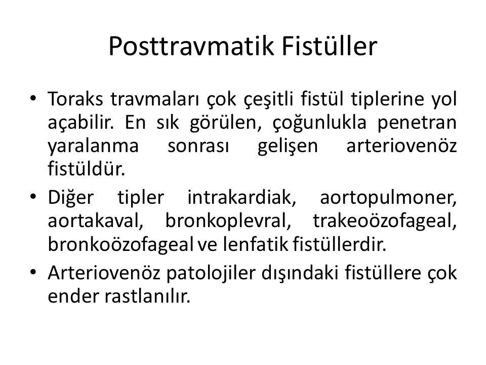 Posttravmatik Fistüller
