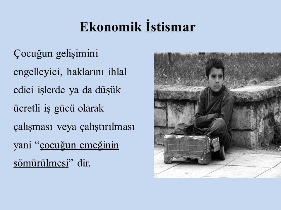 Ekonomik İstismar