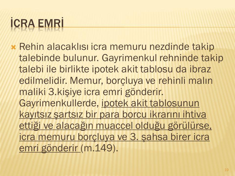 İCRA EMRİ