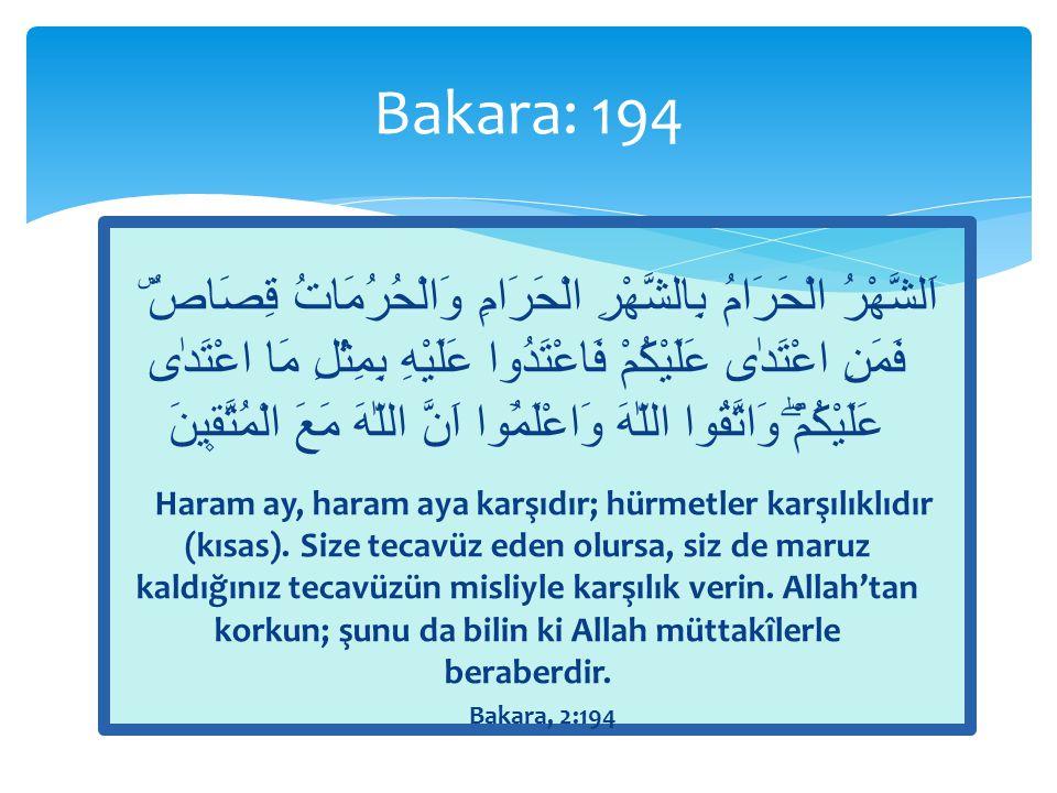 Bakara: 194