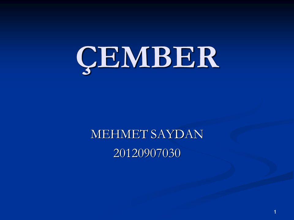 ÇEMBER MEHMET SAYDAN 20120907030