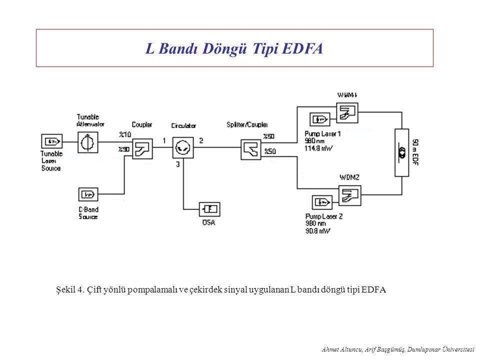 L Bandı Döngü Tipi EDFA