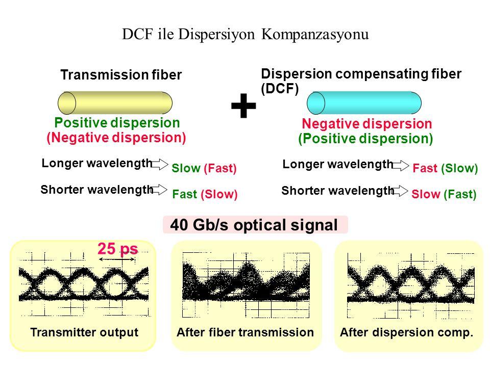 DCF ile Dispersiyon Kompanzasyonu