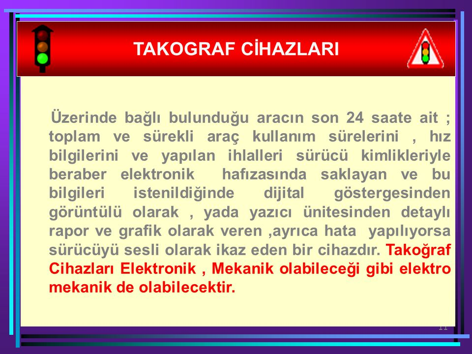 TAKOGRAF CİHAZLARI