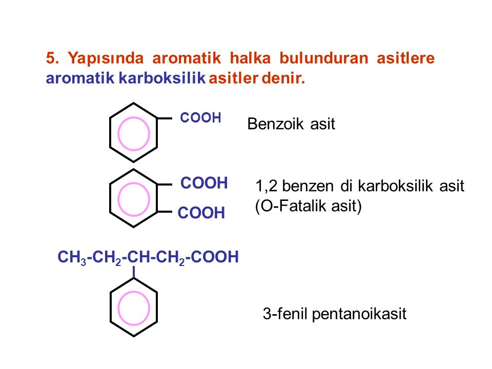 1,2 benzen di karboksilik asit (O-Fatalik asit)