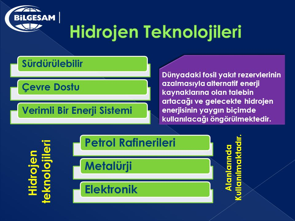 Hidrojen Teknolojileri