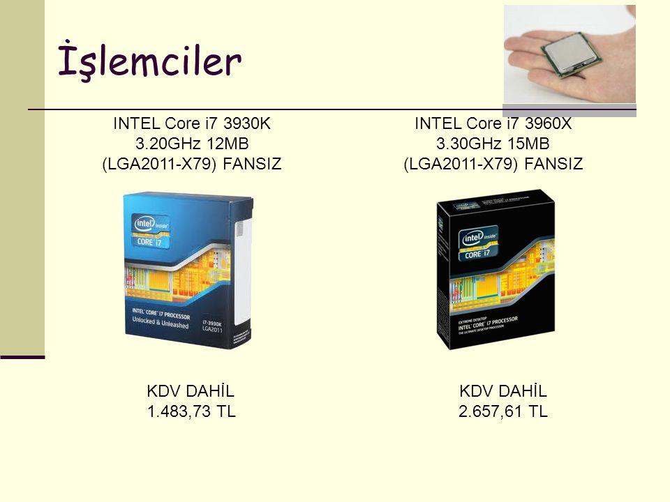 INTEL Core i7 3930K 3.20GHz 12MB (LGA2011-X79) FANSIZ