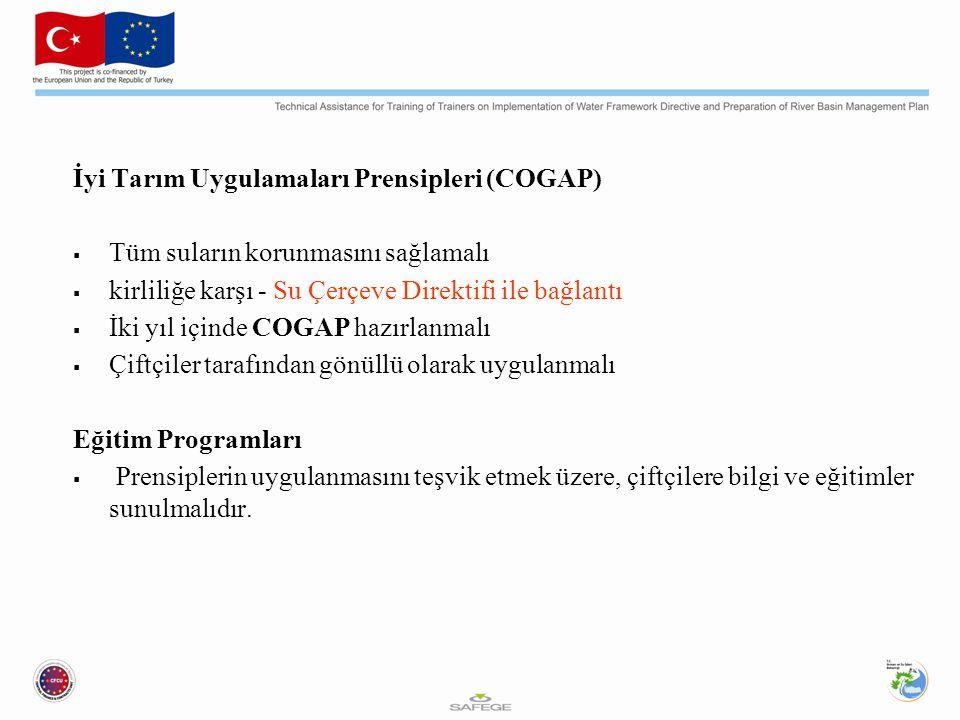İyi Tarım Uygulamaları Prensipleri (COGAP)