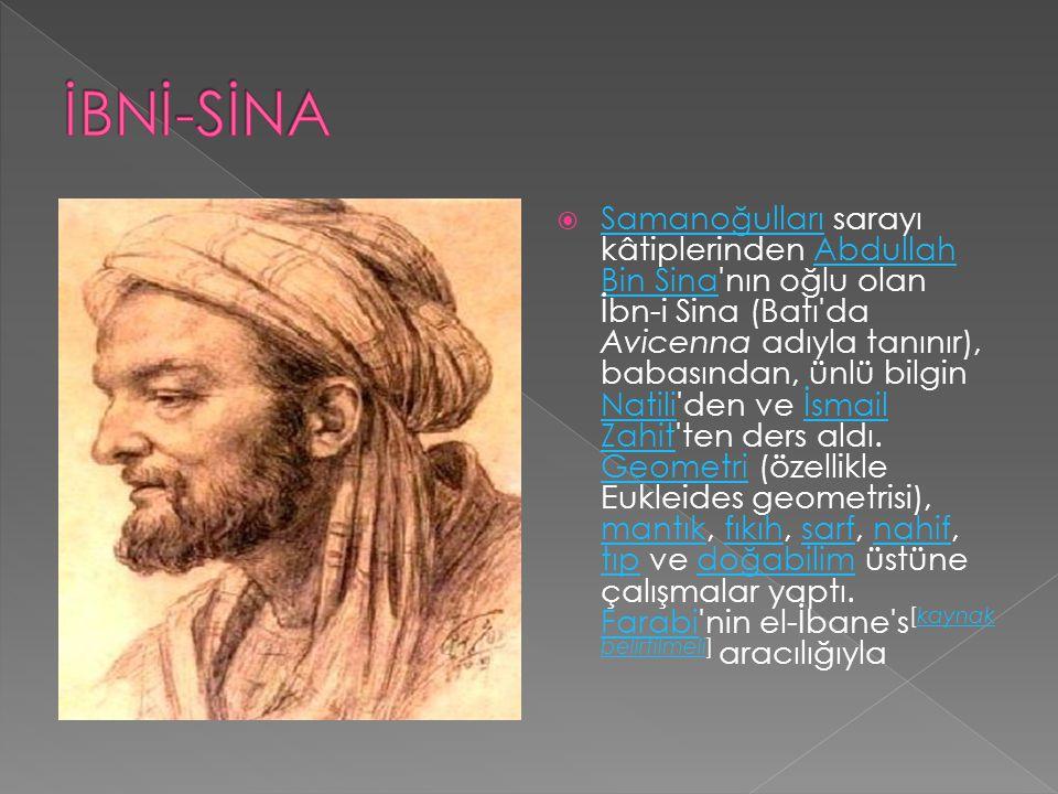 İBNİ-SİNA