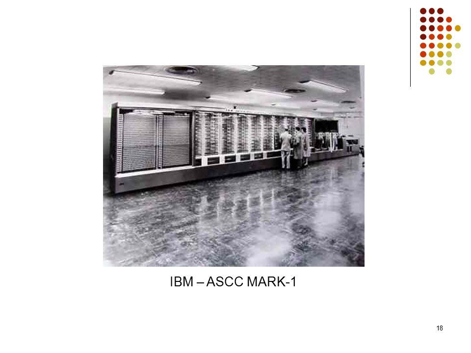 IBM – ASCC MARK-1