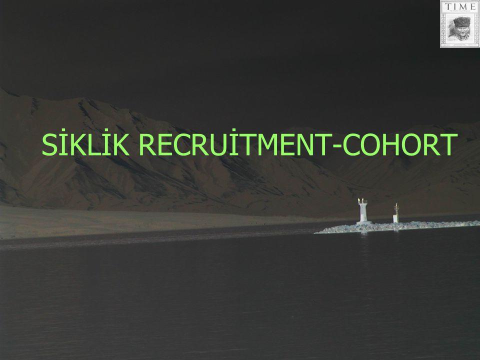 SİKLİK RECRUİTMENT-COHORT
