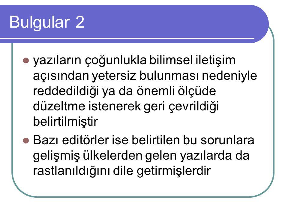 Bulgular 2