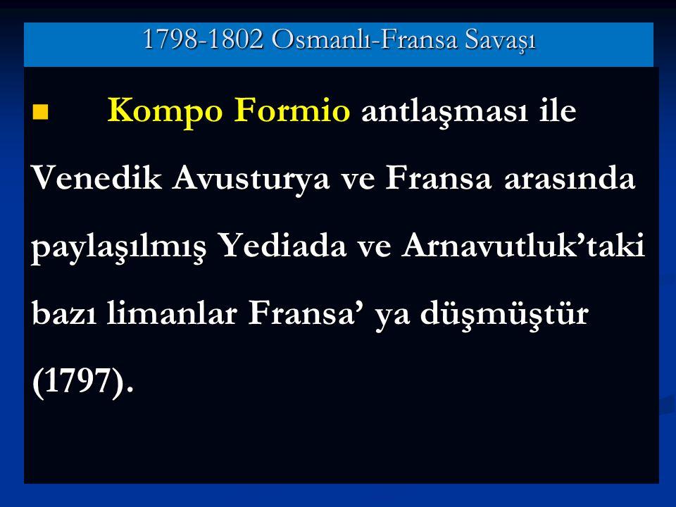 1798-1802 Osmanlı-Fransa Savaşı