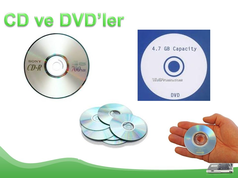 CD ve DVD'ler