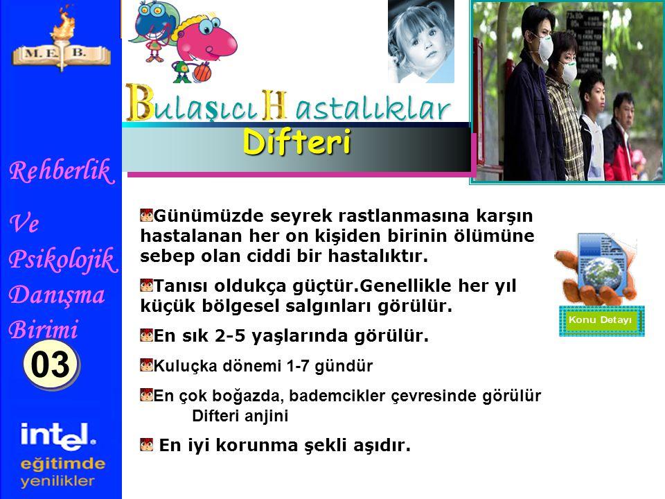 ulaşıcı astalıklar 03 Difteri