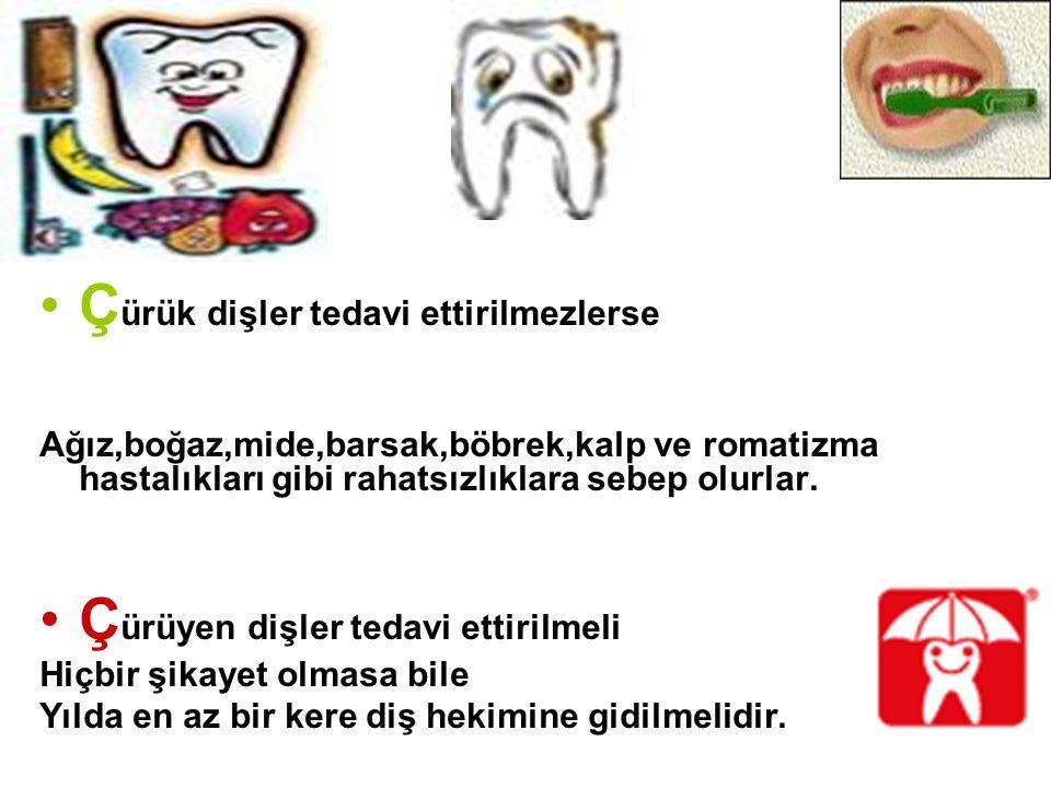 Çürük dişler tedavi ettirilmezlerse