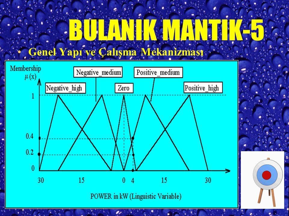 BULANIK MANTIK-5 Genel Yapı ve Çalışma Mekanizması