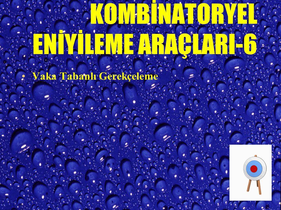 KOMBİNATORYEL ENİYİLEME ARAÇLARI-6