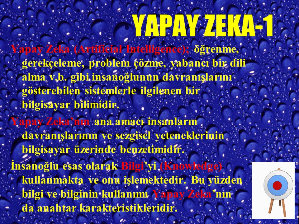 YAPAY ZEKA-1