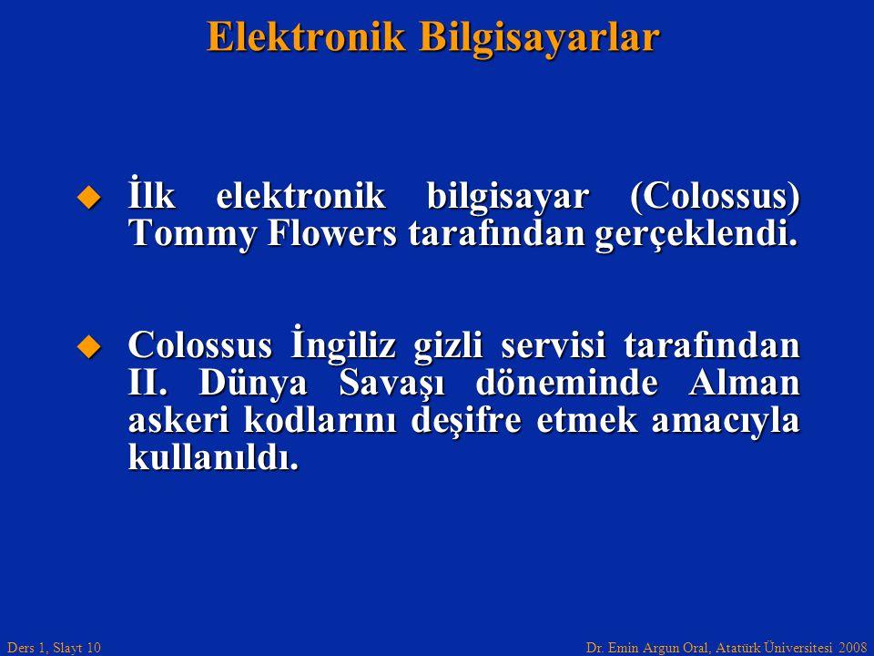 Elektronik Bilgisayarlar