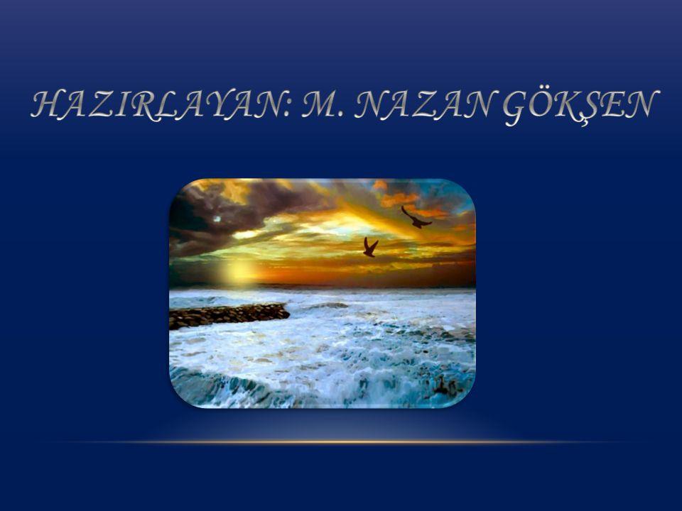 HAZIRLAYAN: M. NAZAN GÖKŞEN