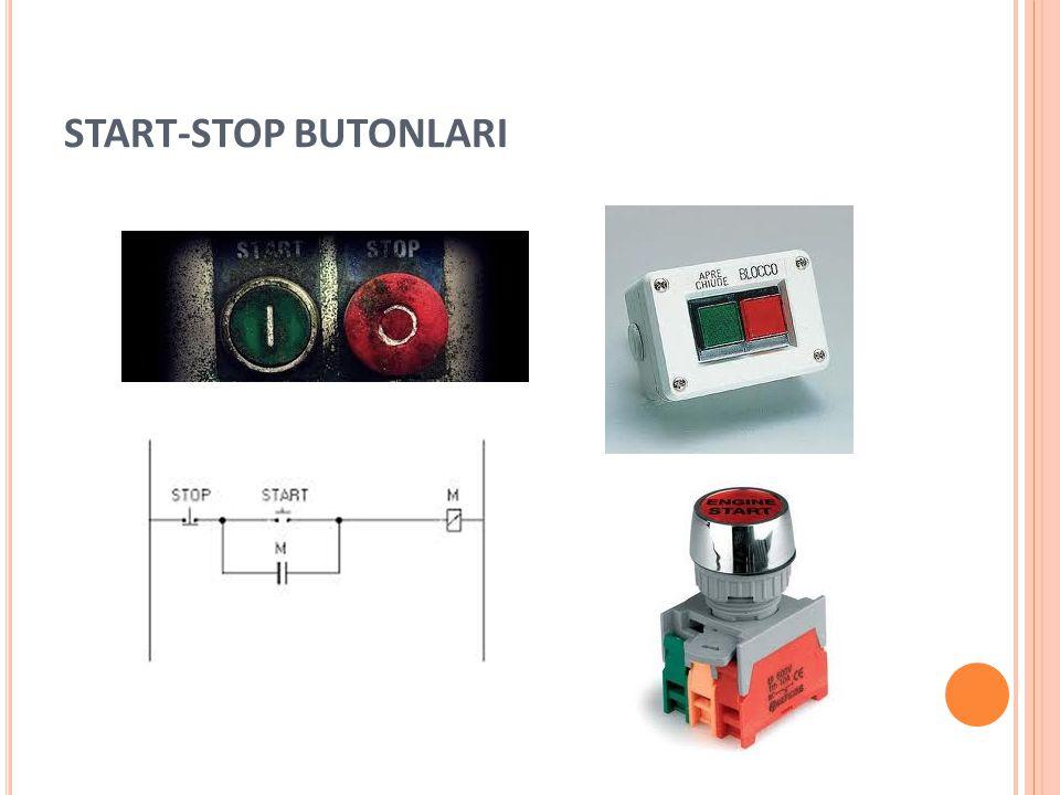 START-STOP BUTONLARI