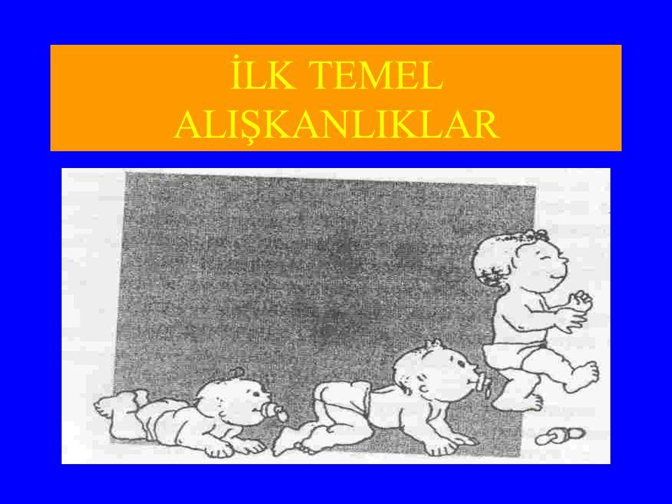 İLK TEMEL ALIŞKANLIKLAR