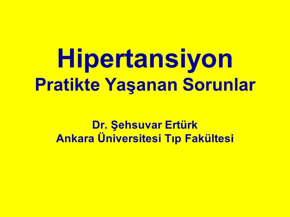 Hipertansiyon Pratikte Yaşanan Sorunlar Dr