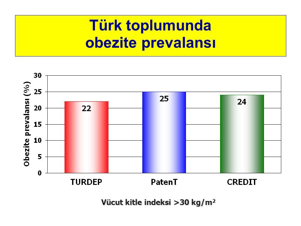 Türk toplumunda obezite prevalansı