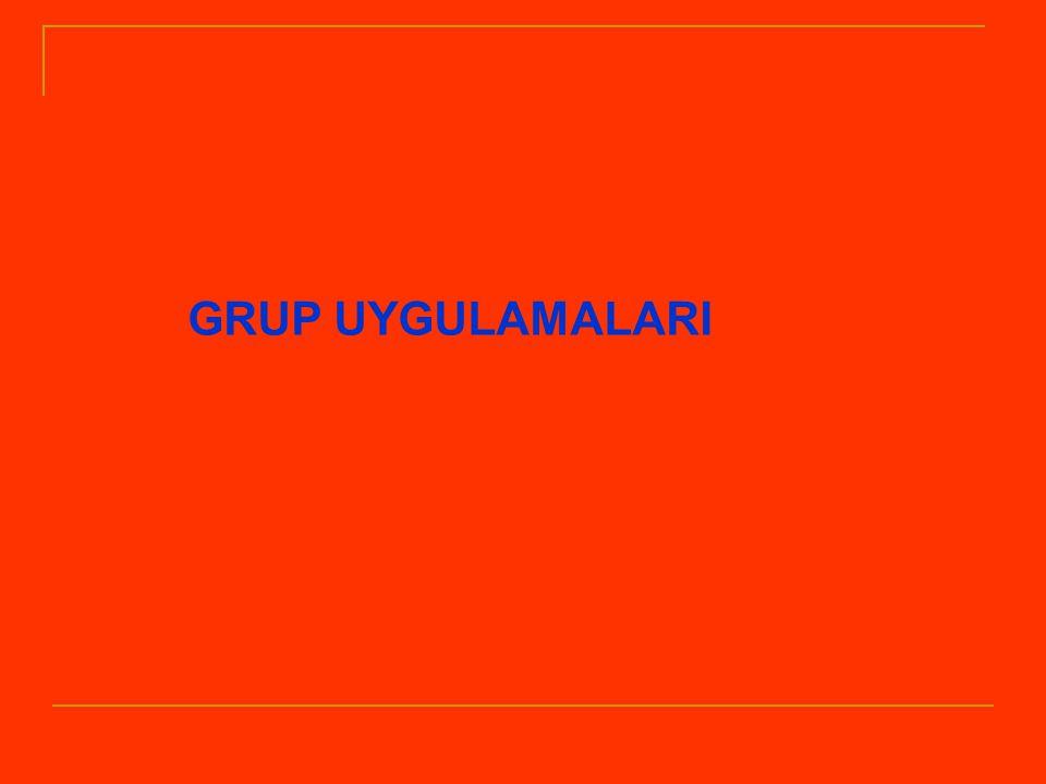 GRUP UYGULAMALARI