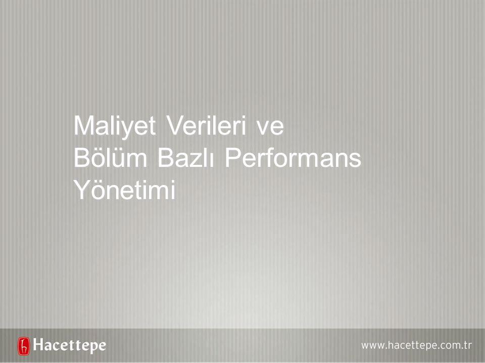 Bölüm Bazlı Performans Yönetimi