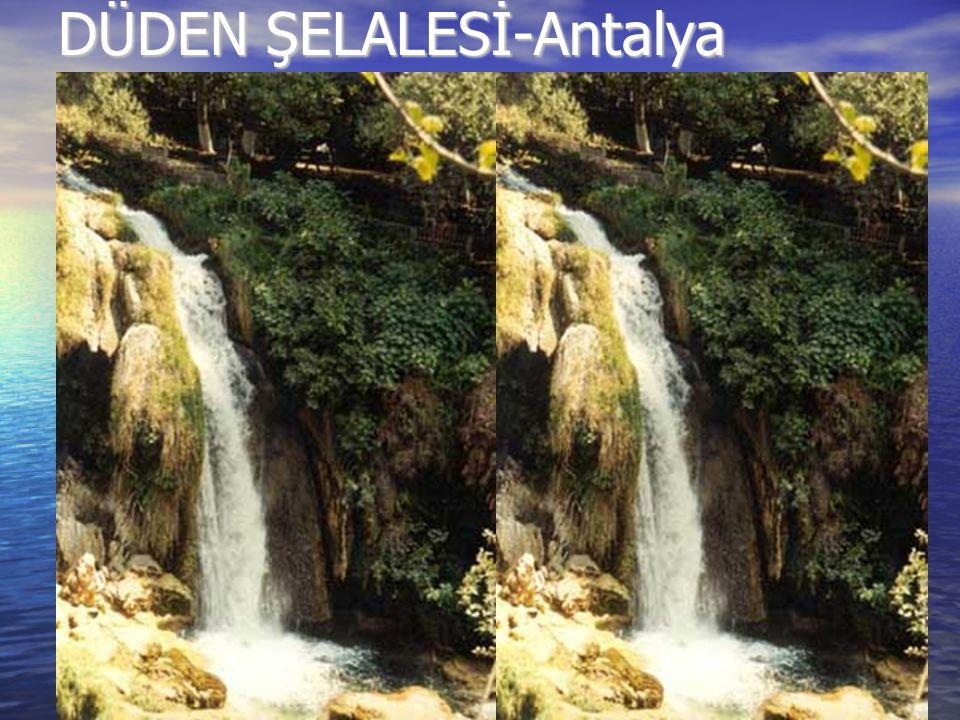 DÜDEN ŞELALESİ-Antalya