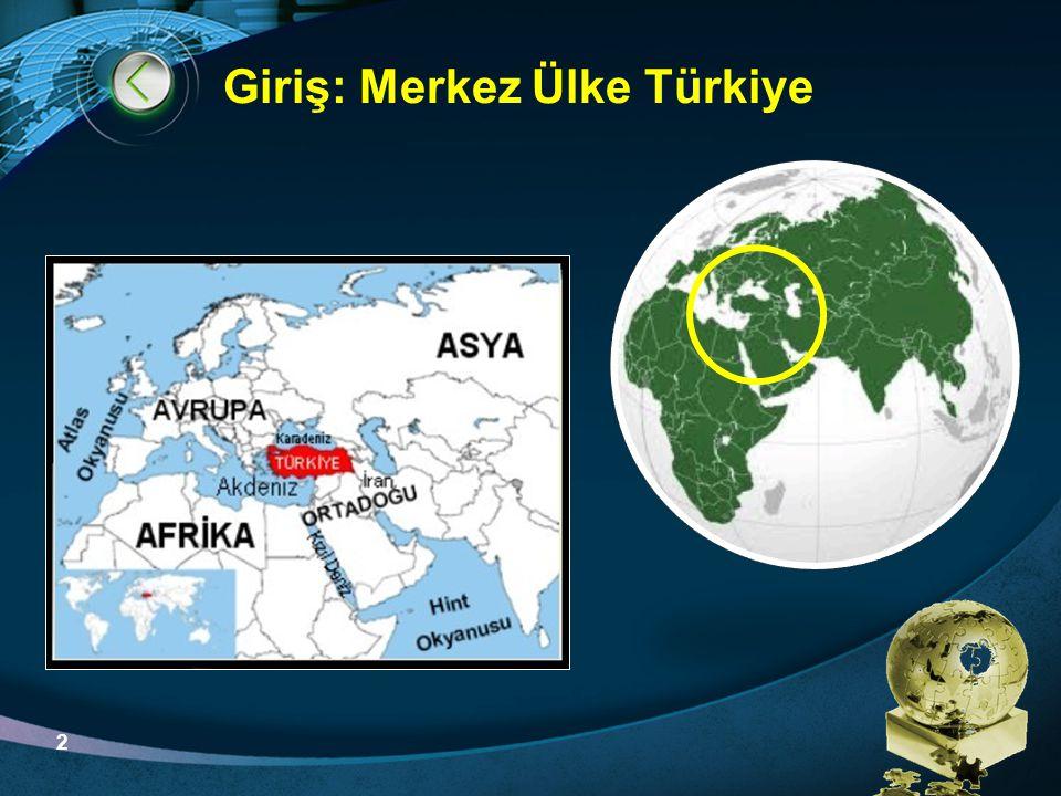 Giriş: Merkez Ülke Türkiye