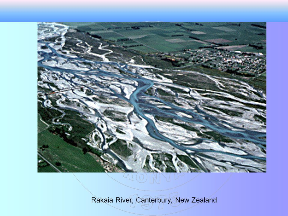 Rakaia River, Canterbury, New Zealand