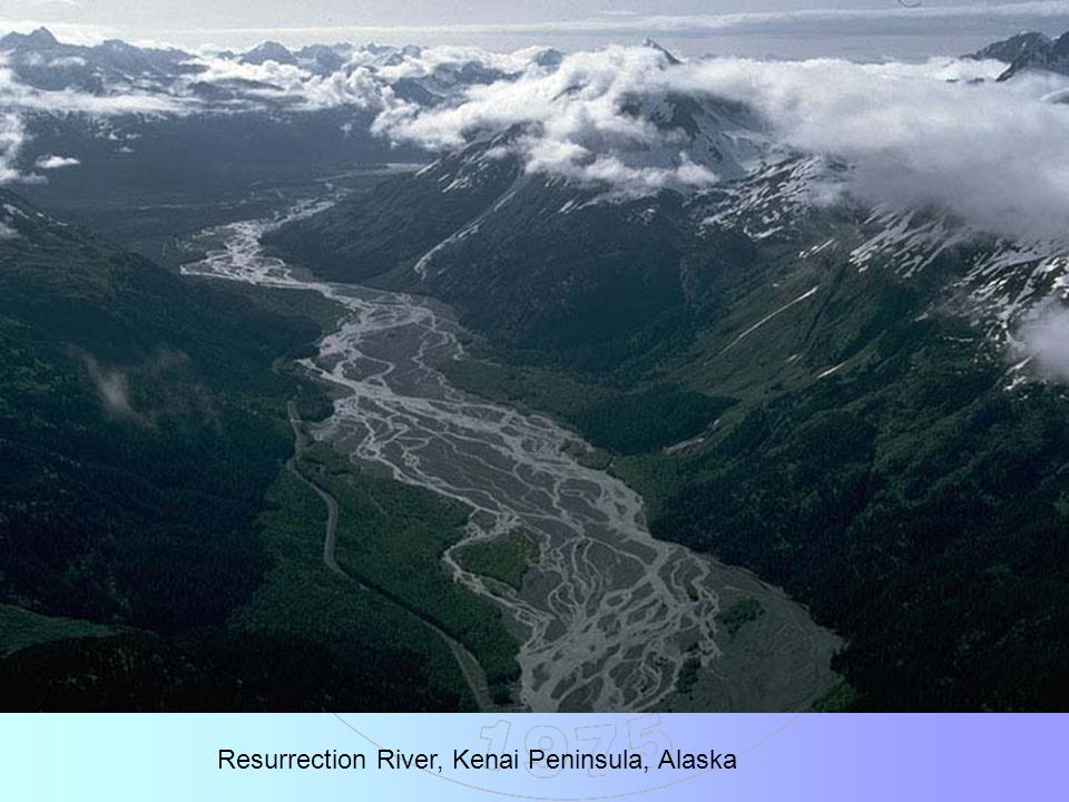 Resurrection River, Kenai Peninsula, Alaska