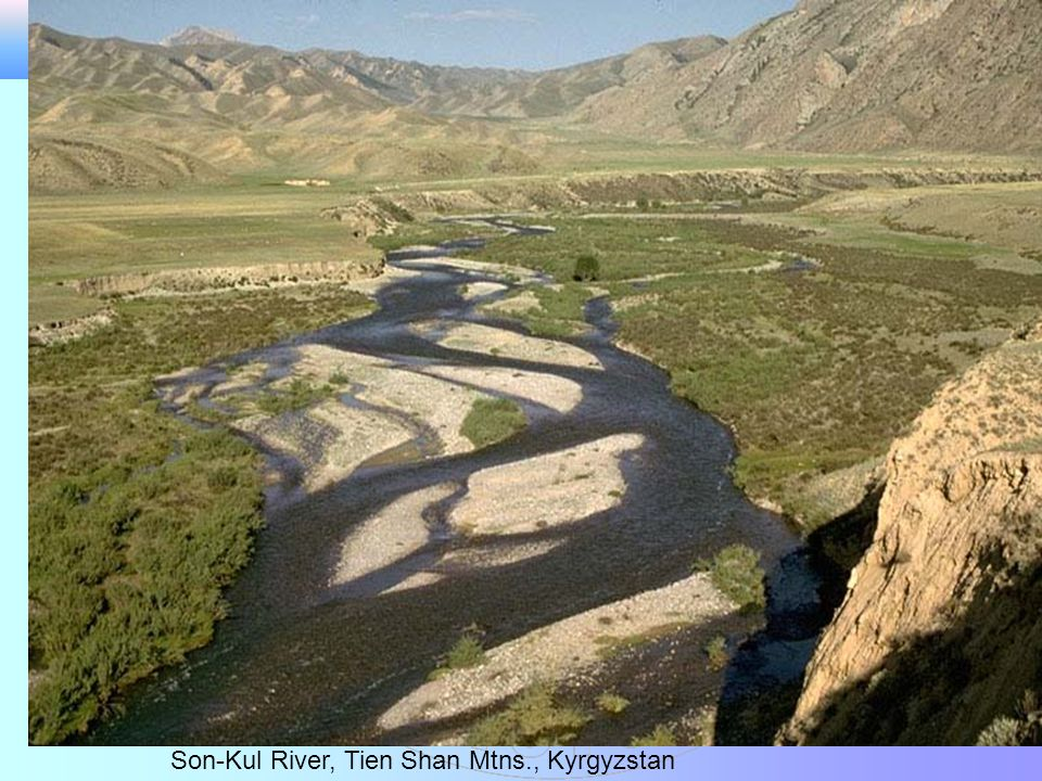 Son-Kul River, Tien Shan Mtns., Kyrgyzstan