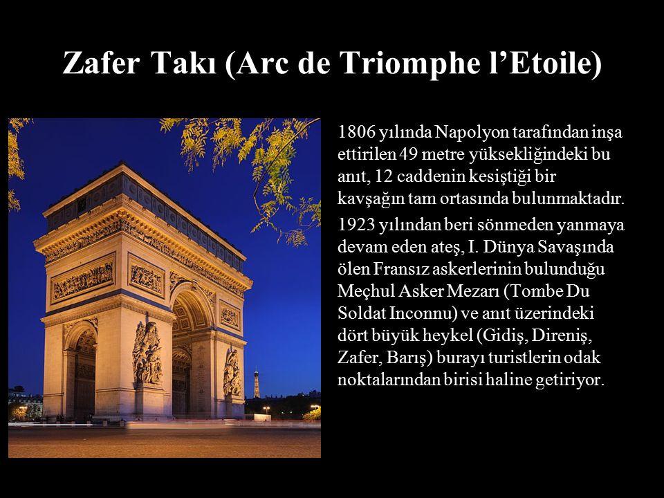 Zafer Takı (Arc de Triomphe l'Etoile)