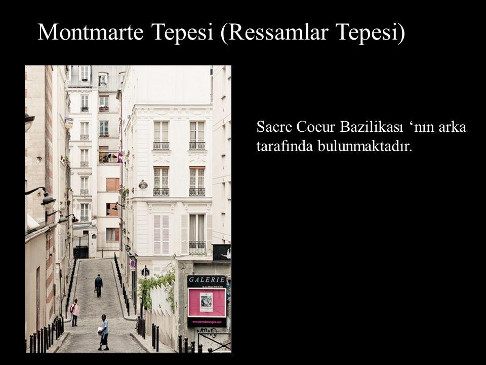 Montmarte Tepesi (Ressamlar Tepesi)