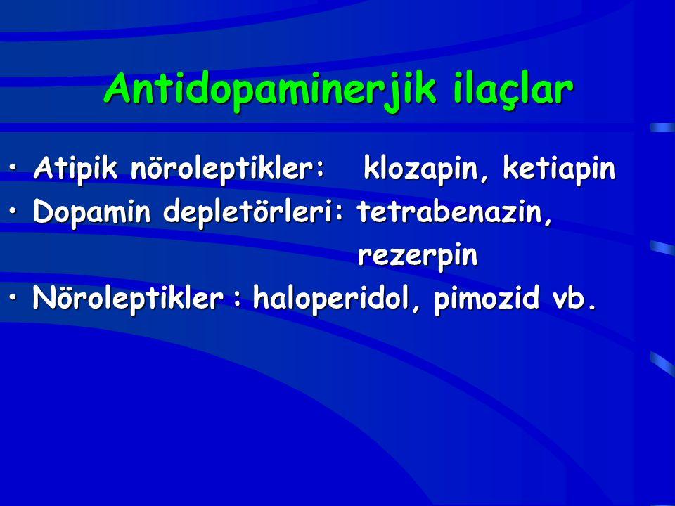 Antidopaminerjik ilaçlar