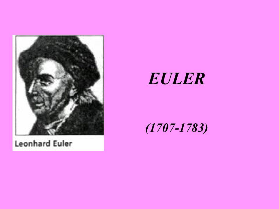 EULER (1707-1783)