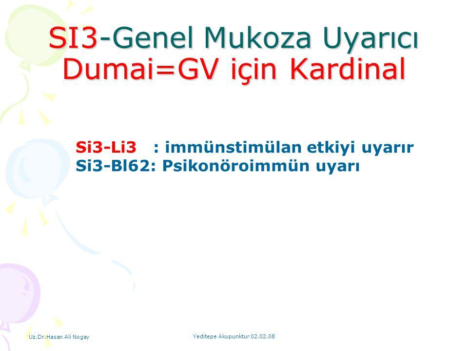 SI3-Genel Mukoza Uyarıcı Dumai=GV için Kardinal