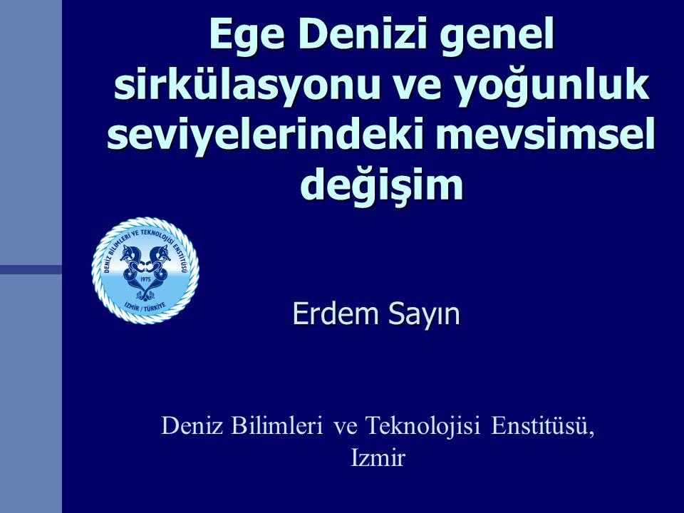 Deniz Bilimleri ve Teknolojisi Enstitüsü, Izmir