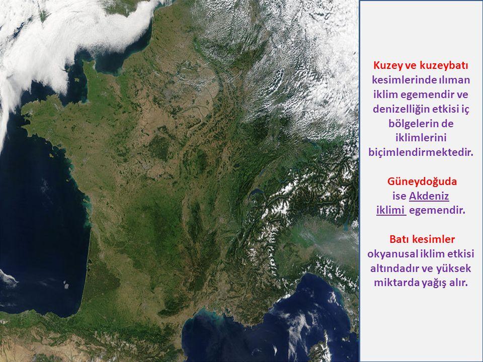 Güneydoğuda ise Akdeniz iklimi egemendir.