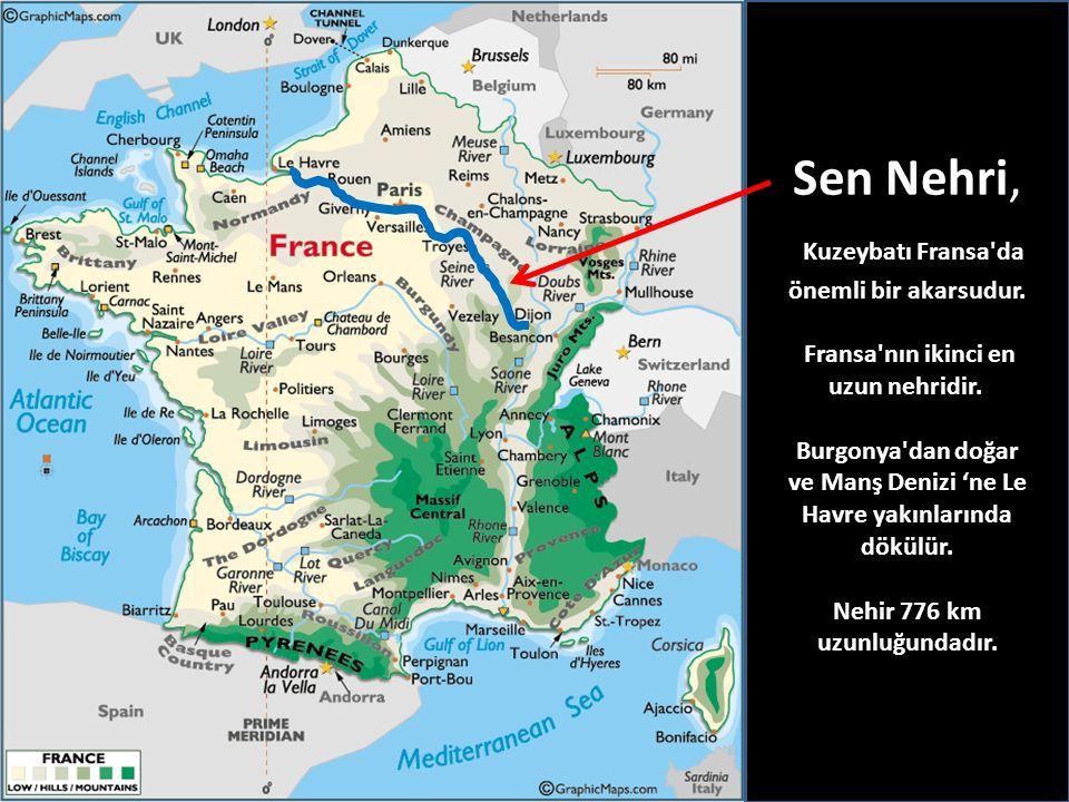 Kuzeybatı Fransa da önemli bir akarsudur.