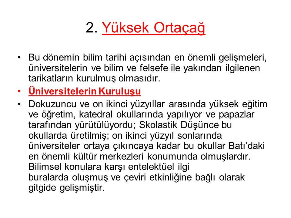2. Yüksek Ortaçağ