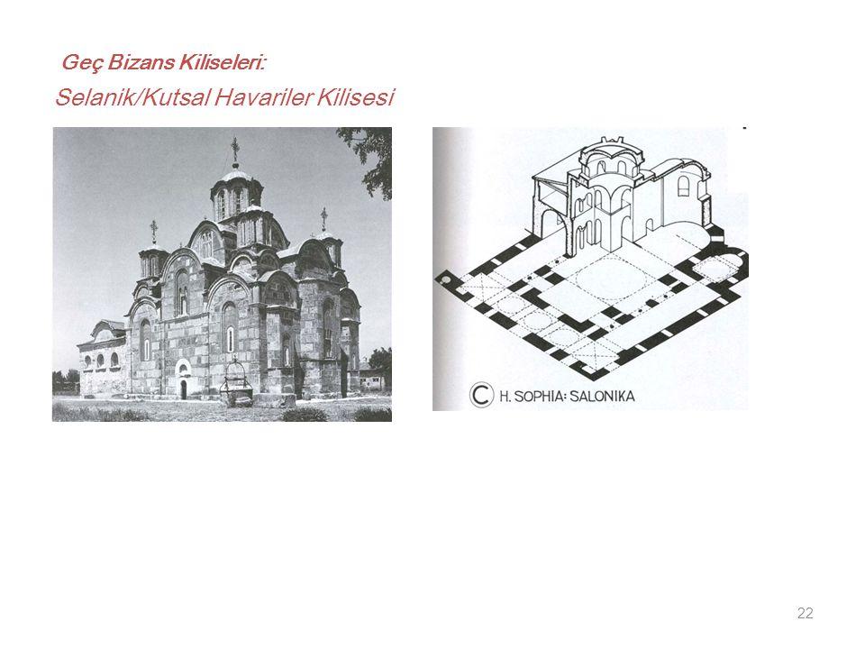 Geç Bizans Kiliseleri: