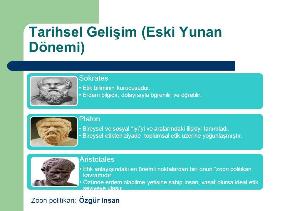 Tarihsel Gelişim (Eski Yunan Dönemi)