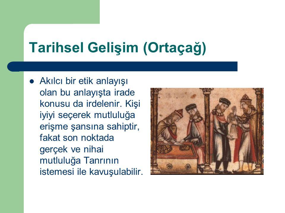 Tarihsel Gelişim (Ortaçağ)