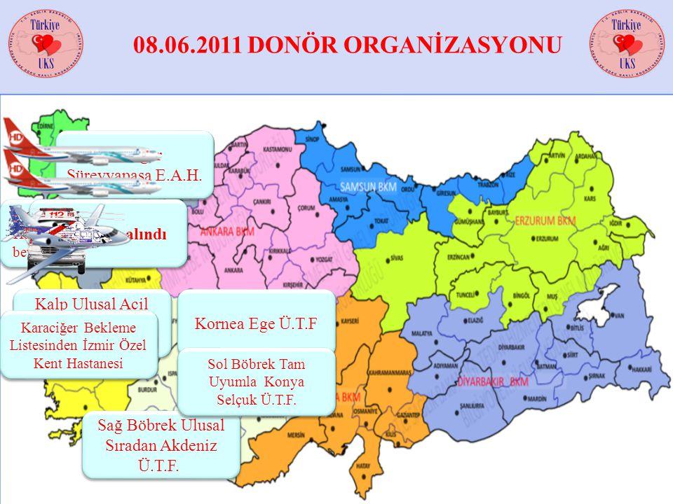 08.06.2011 DONÖR ORGANİZASYONU Akciğer Süreyyapaşa E.A.H.