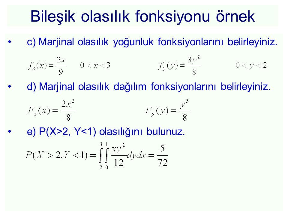 Bileşik olasılık fonksiyonu örnek